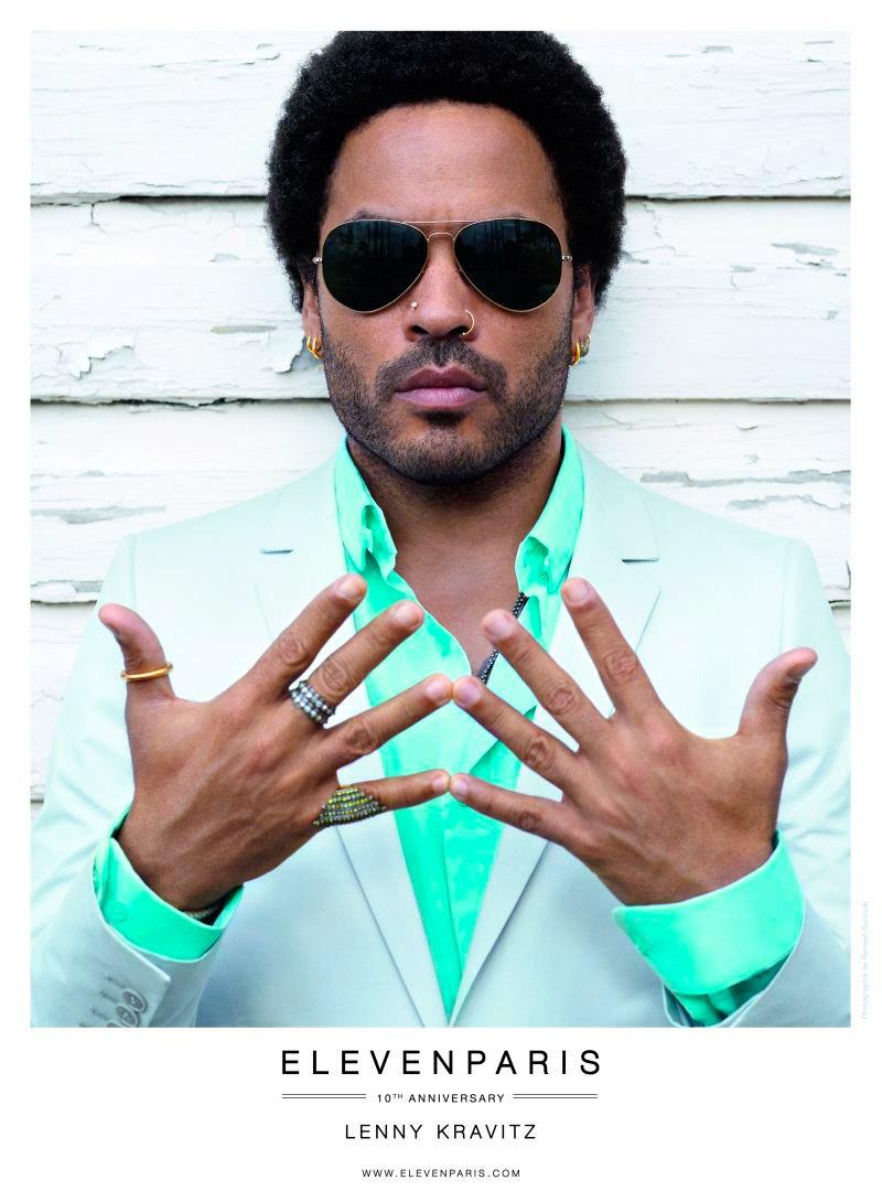 Lenny Kravitz is kampányarc lett