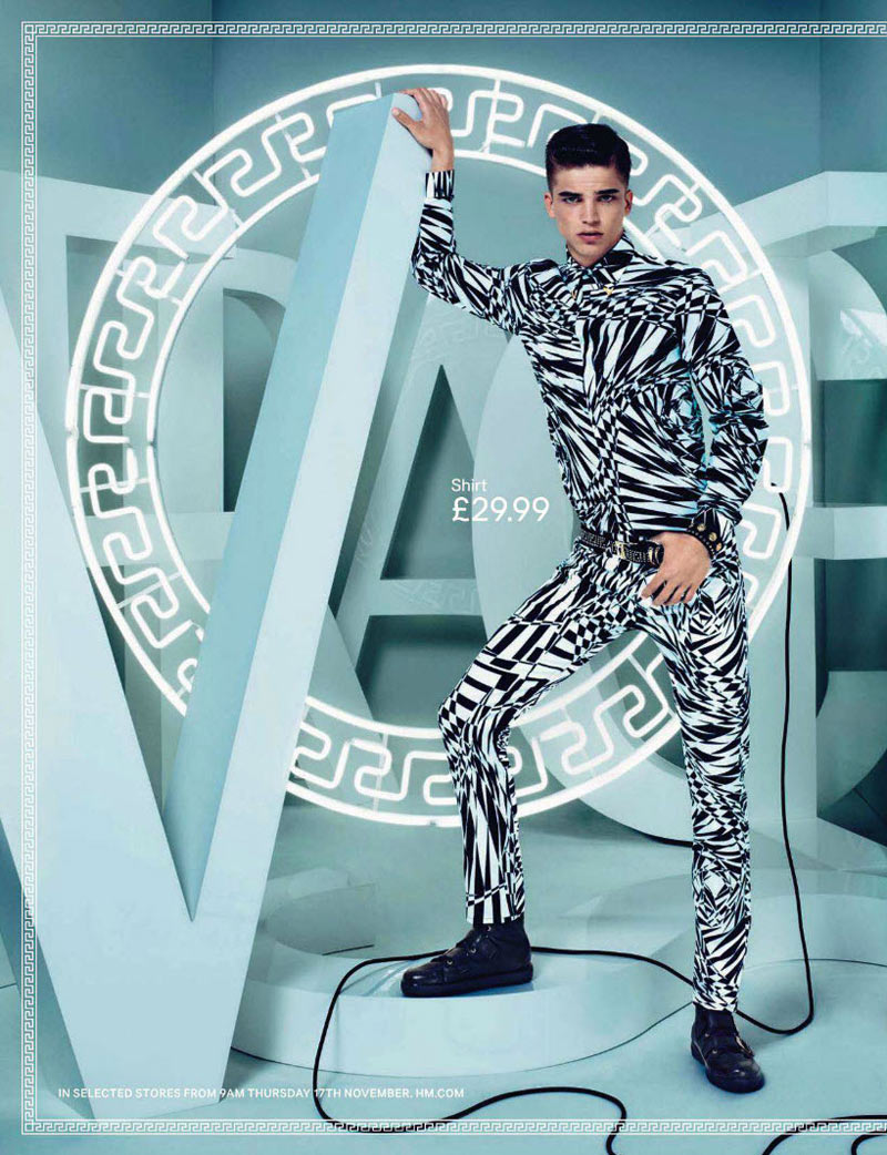 Versace x H&m Campaign Preview