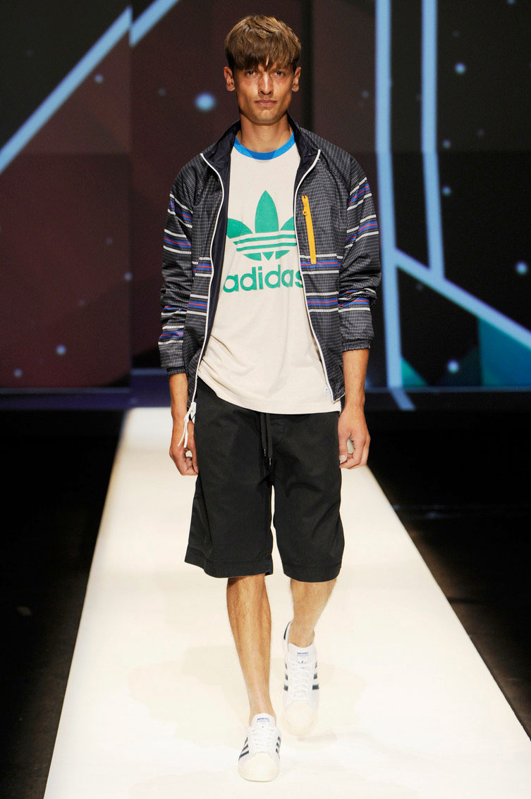 6a3e5757f17e You can always expect a bold style when it comes to Jeremy Scott. Adidas  Originals for Spring Summer 2013 is no different.