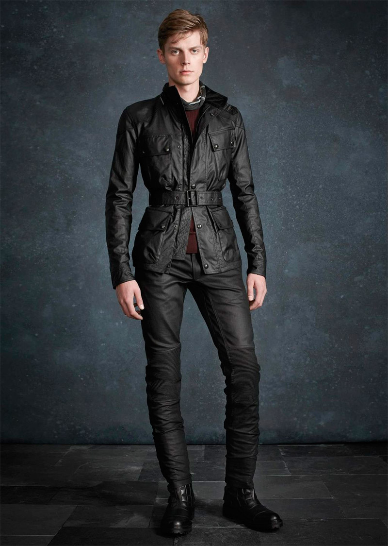 5a289d4462 Martin Cooper created an elegant collection for Belstaff Pre-Fall 2013,  full of luxurious outerwear pieces modeled by Janis Ancens.
