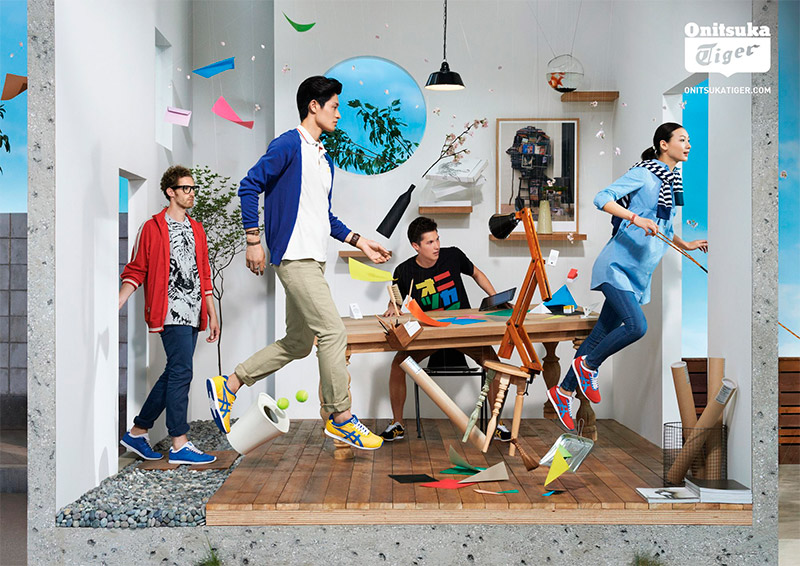 "Onitsuka Tiger Spring/Summer 2013 ""Craft of Movement ..."