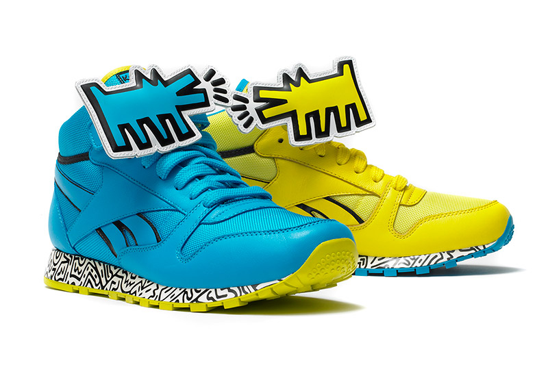 Reebok x Keith Haring Foundation 2013 Footwear Collection