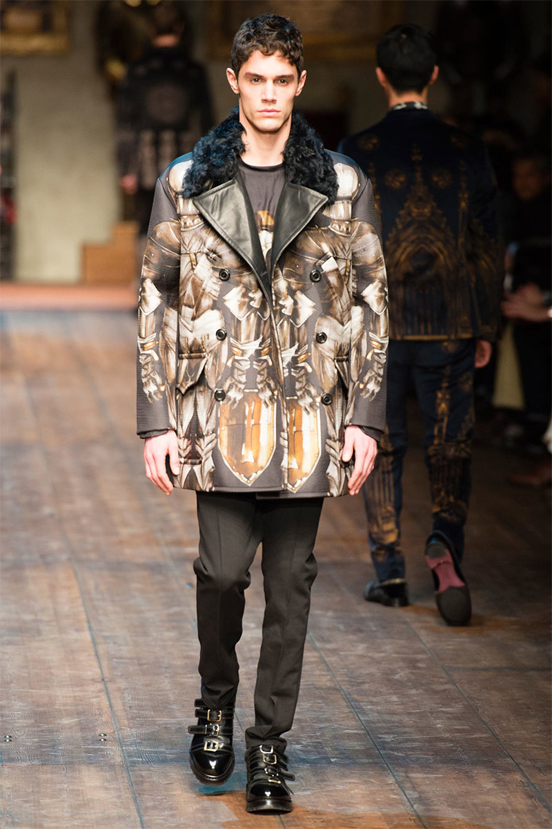 16f7382238 Dolce   Gabbana Fall Winter 2014 - Fucking Young!