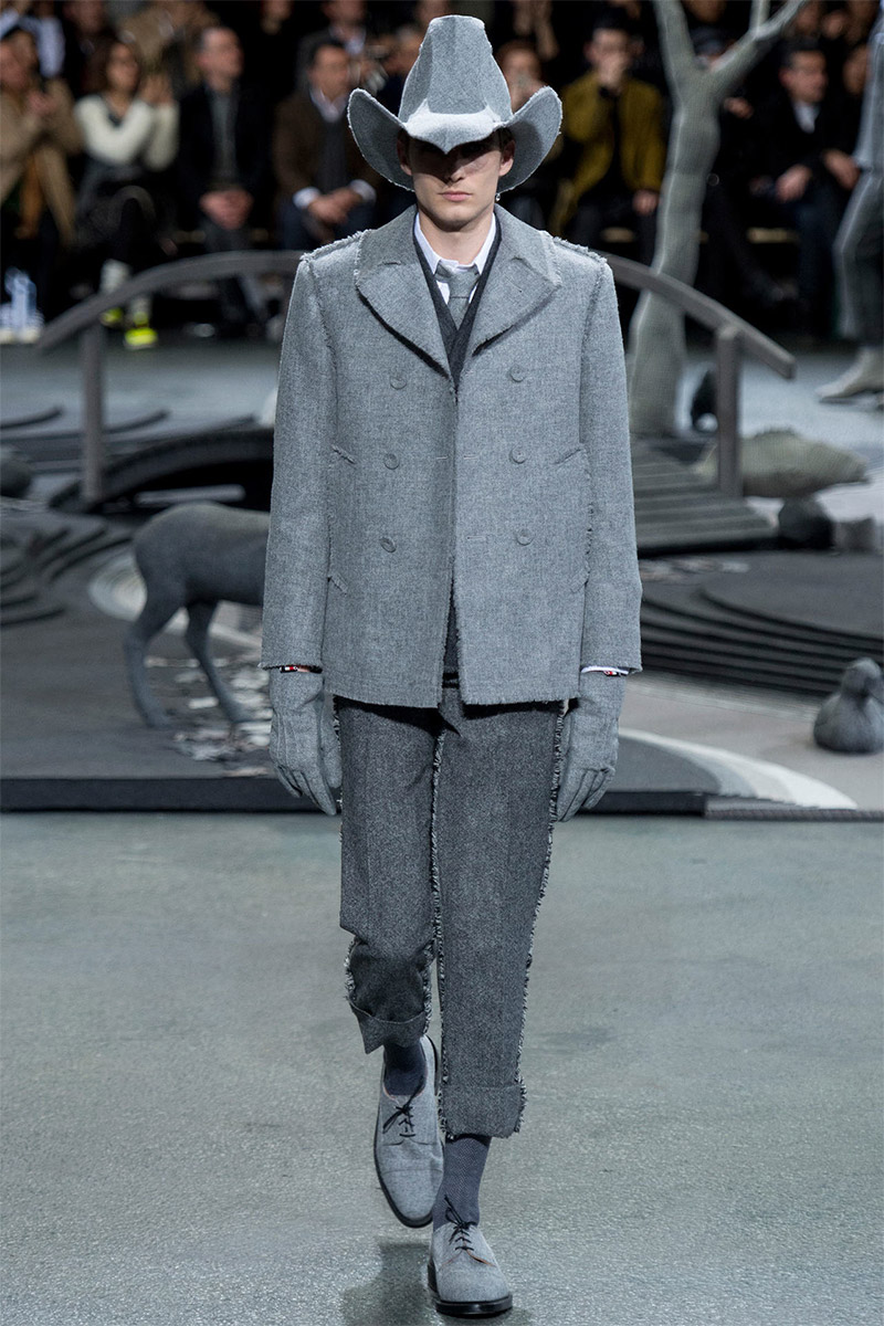 600d975731c Thom Browne Fall Winter 2014 - Fucking Young!