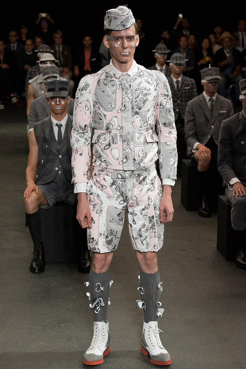 653edb42b914 Thom Browne Spring Summer 2015 - Fucking Young!