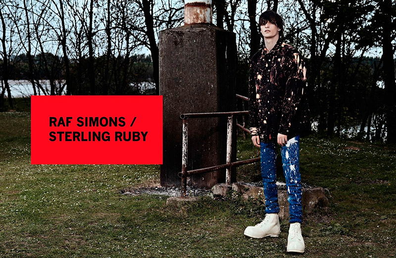 Raf-Simons--Sterling-Ruby_fw14_campaign_fy1
