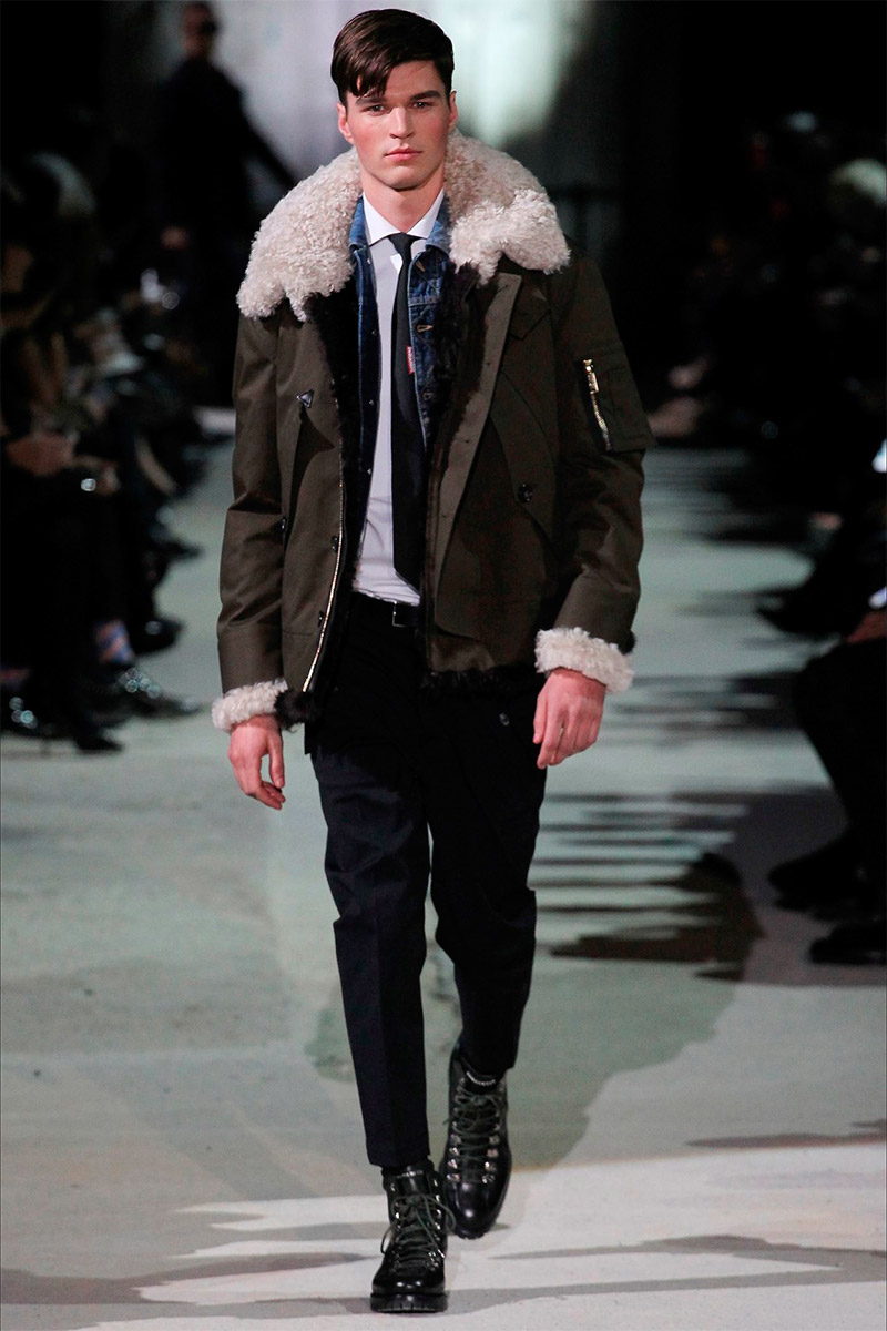 Dsquared2 Fall Winter 2015 Fucking Young