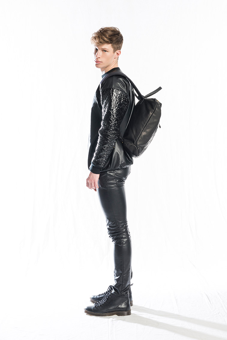 image Leather jacket gay twink fuck we are
