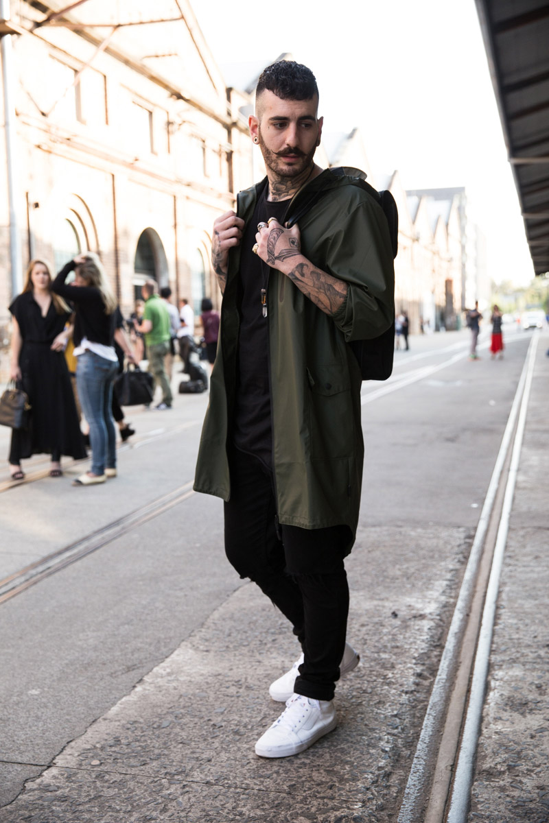Streetstyle Mercedes Benz Fashion Week Australia Ss15 16