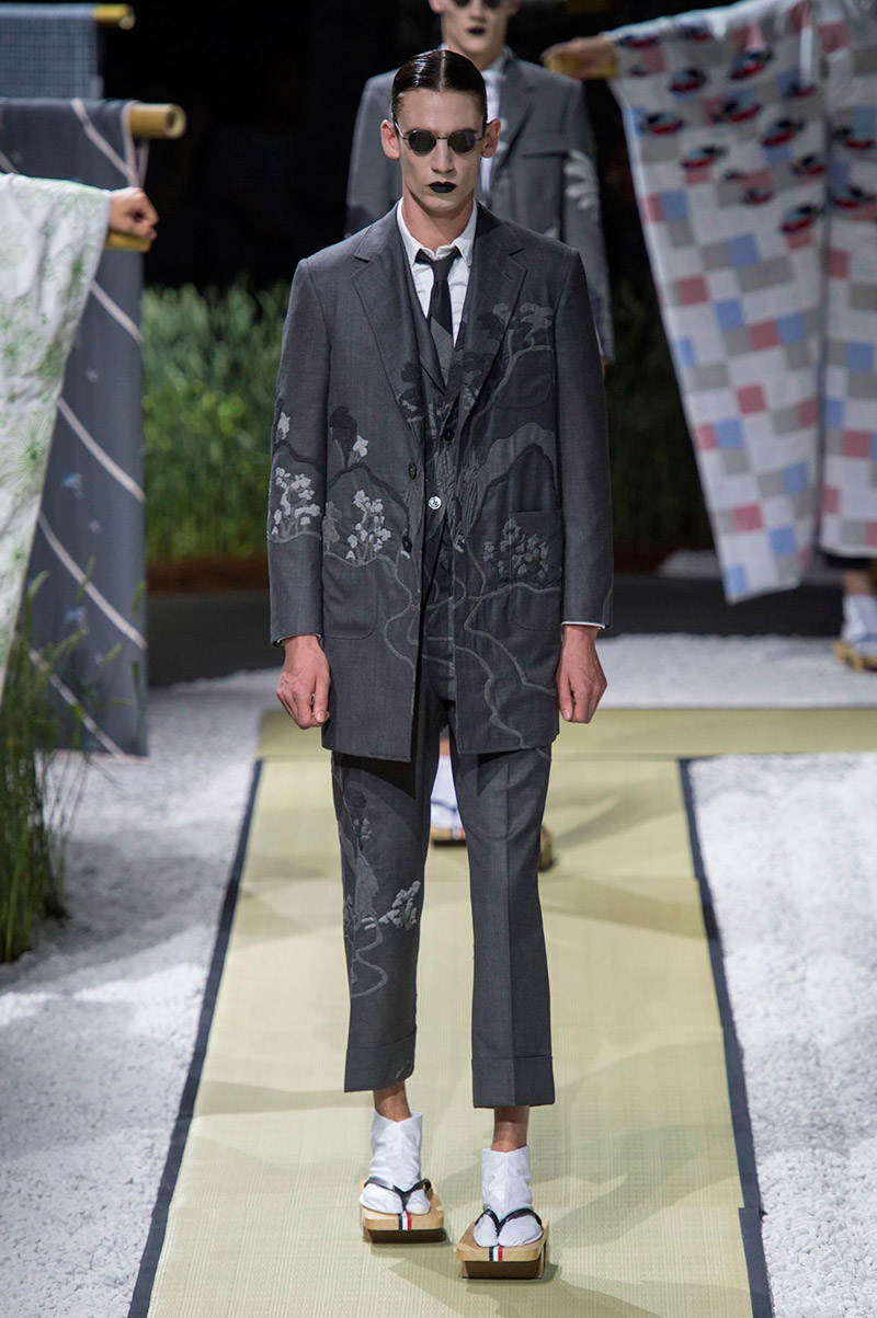 a13ccb0d803 Thom Browne Spring Summer 2016 - Fucking Young!