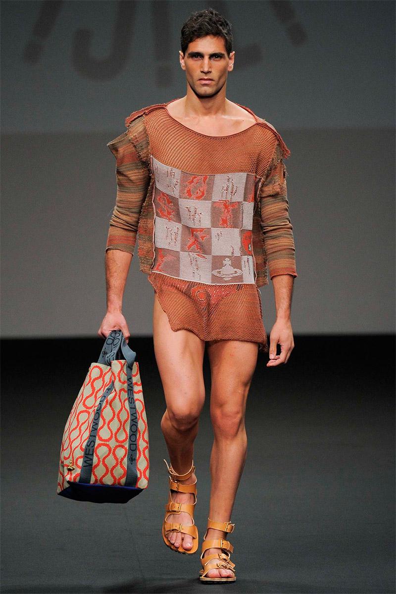 Vivienne westwood spring / summer collection - paris fashion week