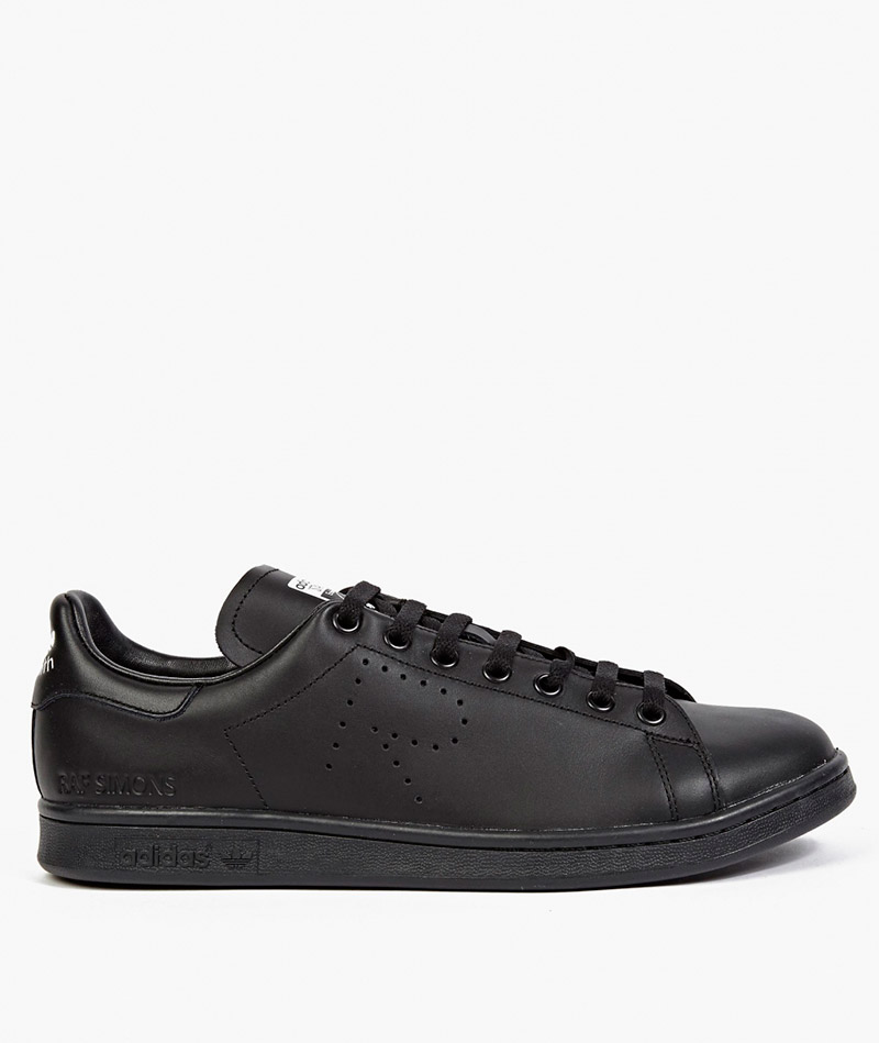 ADIDAS-BY-RAF-SIMONS.-Black-Stan-Smith-Sneakers_fy2