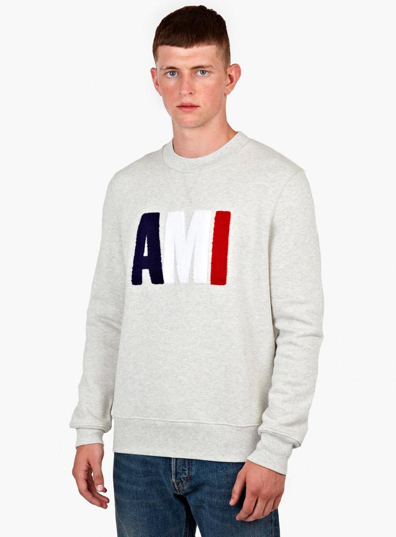 AMI.-Grey-Cotton-Logo-Sweatshirt_fy1