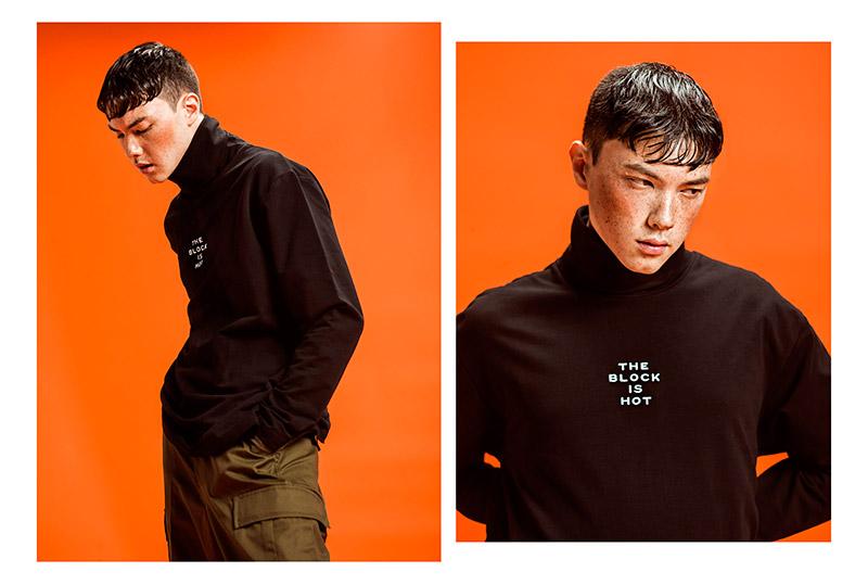 Atelier New Regime 1 Black Orange Korean Style Montreal Canadian Brand