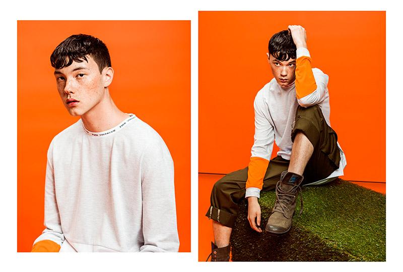 orange lookbook dope musinsa style hiphoper atelier new regime