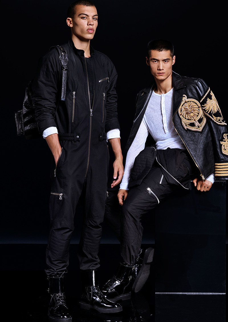 Balmain-x-H&M_lookbook_fy14