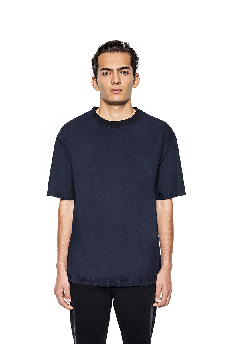 Navy-Poplin-Cotton-T-shirt_fy1