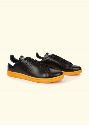 adidas-by-raf-simons-black-and-orange-stan-smith-sneakers_fy0