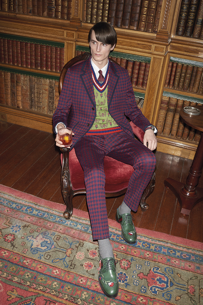 c656d858ba7 MR PORTER teamed up with Gucci to launch an exclusive capsule collection  under the creative direction of Alessandro Michele.