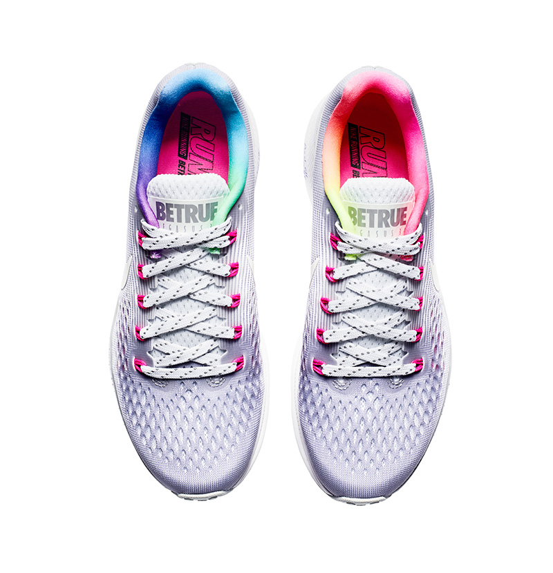 NIKE AIR ZOOM PEGASUS 34 BETRUE – The Nike Air Zoom Pegasus 34 BETRUE draws  inspiration from unicorns with a platinum upper, pink Flywire technology,  ...