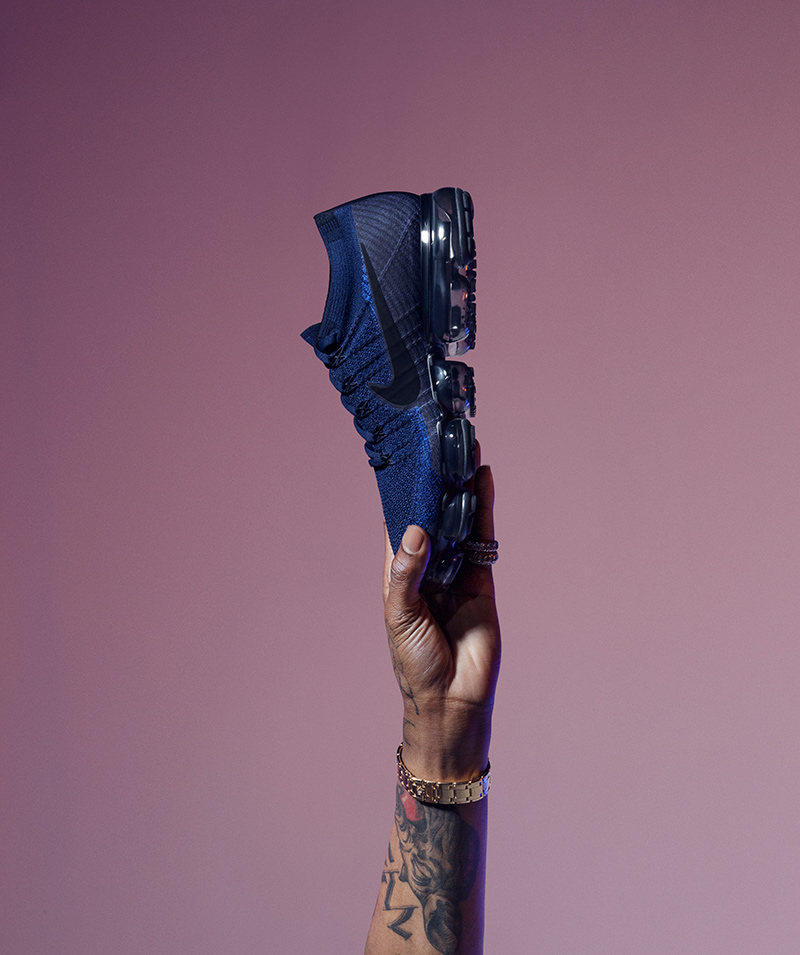 42d281f93a Nike has recently unveiled Travis Scott as the face of its upcoming Air  VaporMax ''Day to Night'' collection campaign. We caught up with Travis for  ...