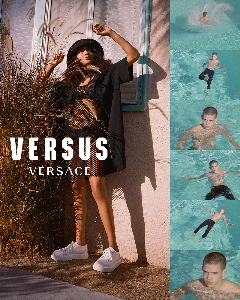 VERSUS VERSACE Spring Summer 2018 Campaign - Fucking Young! 387f4d74f