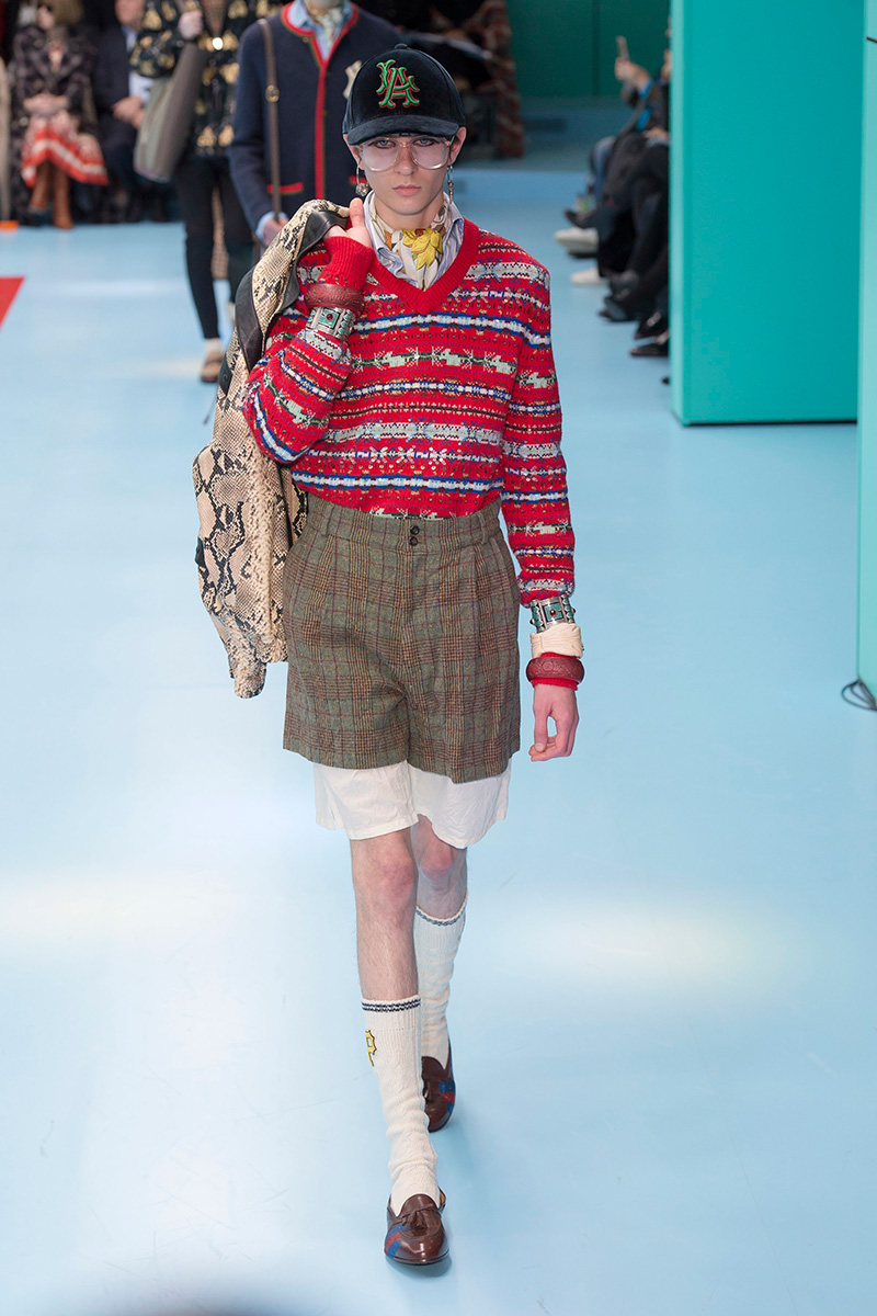 74f5a710662 Gucci Fall Winter 2018 - Fucking Young!