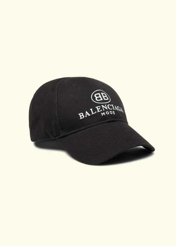 226a5d56 BALENCIAGA. Embroidered Cotton-Twill Baseball Cap - Fucking Young!