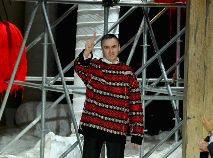 Outfit Raf Simons Exits Calvin Klein by Fucking Young