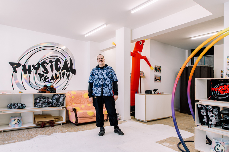 Liam Hodges Opens His First Ever Pop-up Store In Soho London