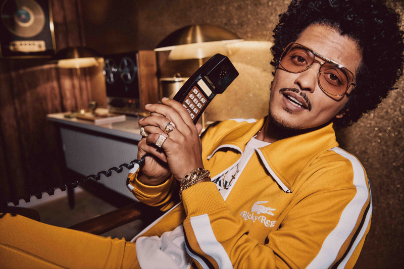 Lacoste x Ricky Regal: Bruno Mars Launches First Lifestyle Collection
