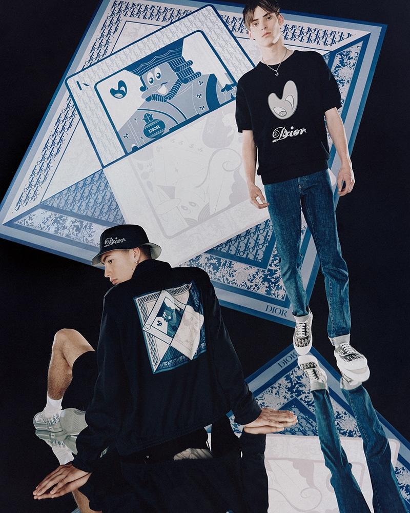 Dior Men x Kenny Scharf