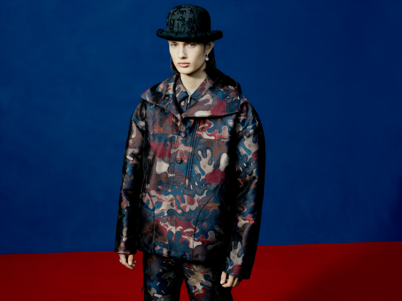 Dior Men – Camouflage in Collaboration With Peter Doig