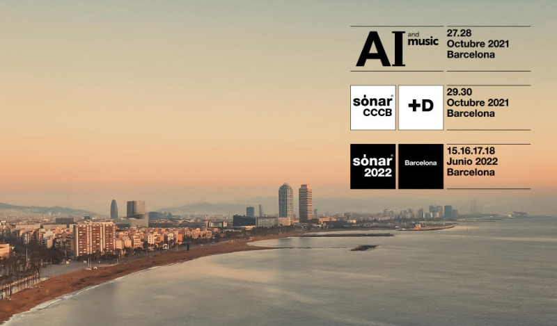 Sónar presents a new festival applying artificial intelligence to music this autumn